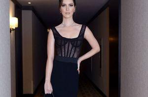 Nathalia Dill aposta em look sexy de R$60 mil em festa da novela 'Rock Story'