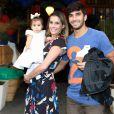 Eles são pais de Maria Flor, de 11 meses, e se consideram um casal normal