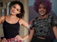 Kizi Vaz muda visual e adota cabelo roxo para 'Rock Story': '10 horas no salão'