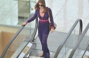 Marina Ruy Barbosa aposta em vestido de crochê para passeio com os pais. Fotos!