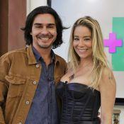 Danielle Winits e André Gonçalves estão morando juntos: 'Mobiliando a casa'