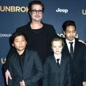 Filhos de Brad Pitt, Pax e Shiloh querem morar com o pai: 'Conexão maior'