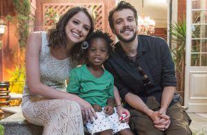 Final da novela 'Haja Coração': juntos, Giovanni e Camila adotam uma criança
