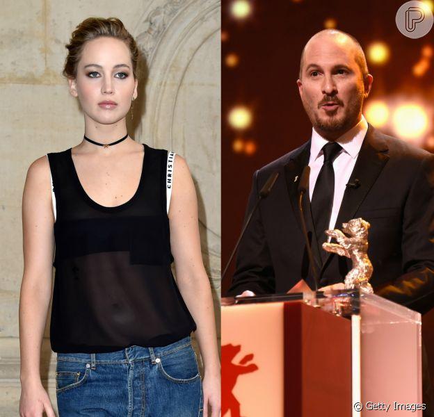 Jennifer Lawrence é vista aos beijos com diretor 21 anos mais velho em Nova York de acordo com a revista 'People' nesta sexta-feira, dia 04 de novembro de 2016
