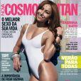 Capa da edição de novembro da revista 'Cosmopolitan', Sabrina Sato declarou: 'Sou bastante feminista, faz parte da minha atitude. A luta pelo direito das mulheres mexe comigo'