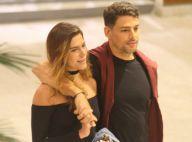Cauã Reymond e Mariana Goldfarb jantam e namoram após cinema. Fotos!