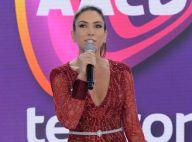 Patricia Abravanel comete gafe e pergunta na TV: 'Gilberto Gil gosta de homem?'