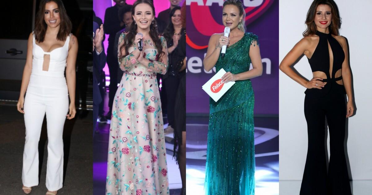 d34ca8140 Veja looks de Anitta, Larissa Manoela, Eliana e mais famosas no 'Teleton'.  Fotos - Purepeople