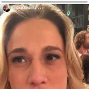 Fernanda Gentil lamenta não achar Angélica ao gravar clipe da Globo: 'Chateada'