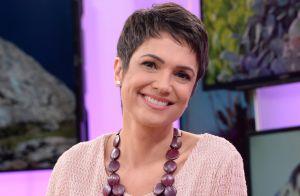 Sandra Annenberg não pagou 1° corte de cabelo com hairstylist: 'Não tinha grana'