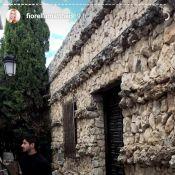 Fiorella Mattheis viaja com Alexandre Pato para Alicante: 'Nas montanhas'. Vídeo