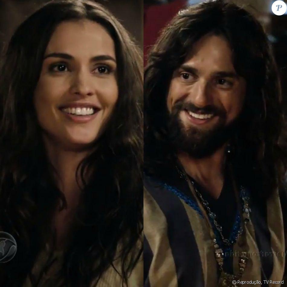 Tiléia (Fernanda Nizzato) e Arauto (Danilo Sacramento) se beijam pela primeira vez, nos próximos capítulos da novela 'A Terra Prometida'