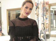 Títi, filha de Giovanna Ewbank, se diverte no salão da atriz: 'Adora o espelho'