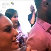 Alinne Rosa paga R$ 22 mil em leilão para beijar Lucas Lucco. Vídeo!