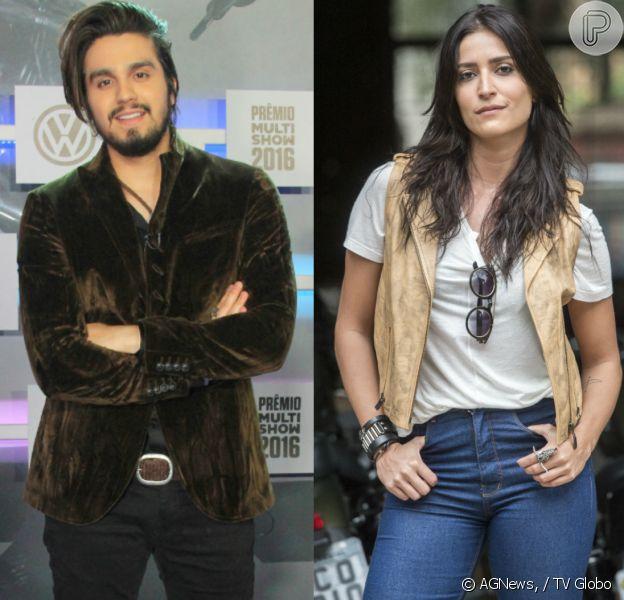Após passar cantanda em Maria Joana, Luan Santana nega interesse na atriz