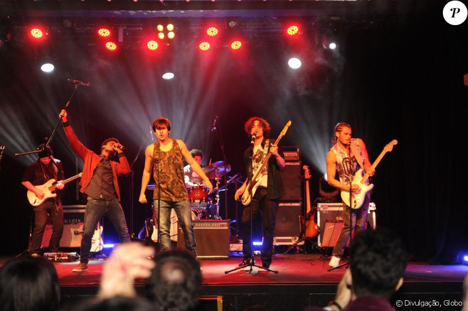 A boyband será formada pelos personagens de João Vitor Silva, Nicolas Prattes, Danilo Mesquita e Maicon Rodrigues