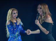 Joelma recebe Ivete Sangalo na gravação do seu primeiro DVD solo. Fotos!