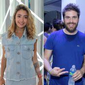 Carolina Oliveira vai a cinema com Thiago Gagliasso, mas nega namoro: 'Amigos'