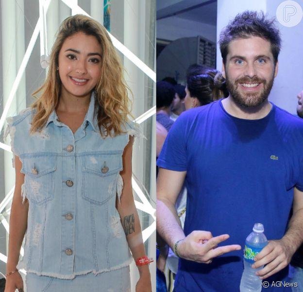 Carolina Oliveira e Thiago Gagliasso foram clicados juntos nesta quarta-feira, 9 de novembro de 2016