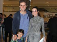 Thiago Fragoso comemora volta da mulher, Mariana Vaz, às novelas: 'Espectador'
