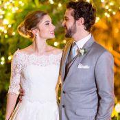 Jayme Matarazzo se casa com Luiza Tellechea após final de 'Haja Coração'. Fotos!
