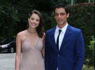 Agatha Moreira e Sabrina Petraglia vão ao casamento de Jayme Matarazzo, no Rio