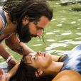 Ralf (Henri Castelli) era apaixonado por Hirô (Carol Nakamura), na novela 'Sol Nascente'