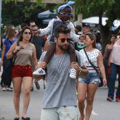 Títi, filha de Bruno Gagliasso, posa com a prima após sofrer racismo:'Mais amor'