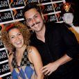 Fabíula e Alexandre Nero foram casados por 10 anos e terminaram o relacionamento em 2011