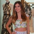 Bruna Hamú participou em um evento no shopping Village Mall na tarde desta quinta-feira, 17 de novembro de 2016