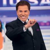 Silvio Santos doa R$ 2mil a artistas que grafitaram seu rosto: 'Não é pagamento'