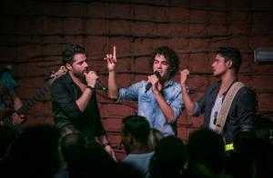 Sam Alves dá canja em show de participantes do 'The Voice Brasil' no Rio