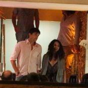 Ashton Kutcher e Mila Kunis jantam com Luciano Huck em restaurante do Rio