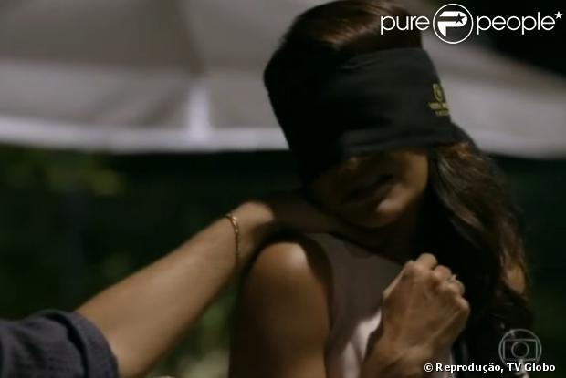 Dira Paes em cena na minissérie 'Amores Roubados'