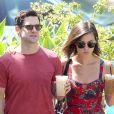 Mulher de Justin Bartha, Lia Smith, está grávida do primeiro filho do casal, em 7 de janeiro de 2014