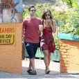 Antes de assumir publicamente seu relacionamento com Lia Smith, Justin Bartha terminou seu namoro com Ashley Olsen