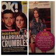 """Thaila Ayala é destaque na revista norte-americana """"OK Magazine"""" e é apontada como pivô da separação de Justin Timberlake e Jessica Biel, em 10 de janeio de 2013"""