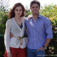 Natasha (Sophia Abrahão) termina seu namoro com Rogério (Daniel Rocha), em 'Amor à Vida'