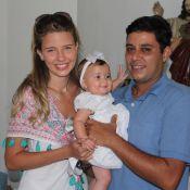 Debby Lagranha batiza a filha, Maria Eduarda: 'Princesa'
