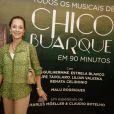 Ana Botafogo prestigia o espetáculo 'Todos os Musicais de Chico Buarque em 90 Minutos', no Rio