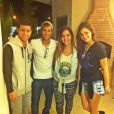 Após a crise com as mineiras, Neymar e Bruna voltaram a aparecer juntos em uma festa de amigos no Rio de Janeiro, pouco antes das festas de fim de ano