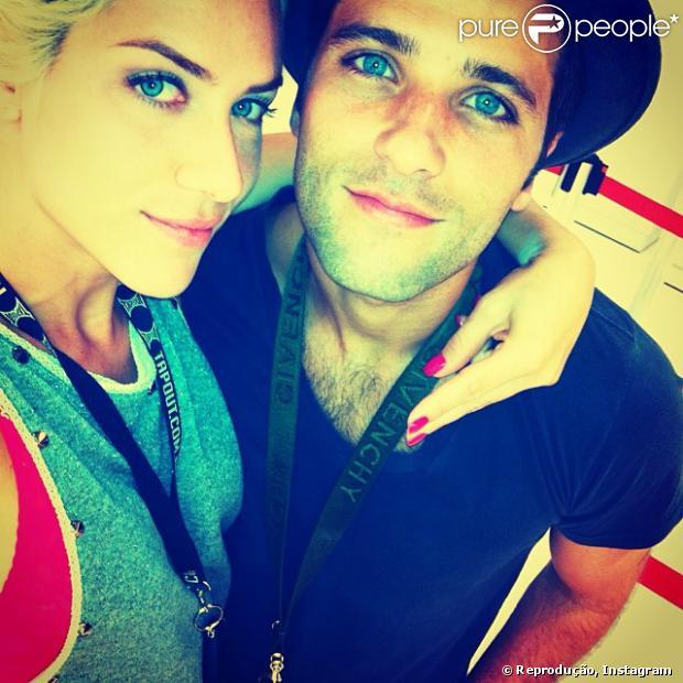 Bruno Gagliasso será namorado de Giovanna Ewbank, sua mulher na vida real, no filme 'Jogos Clandestinos', que será rodado em abril de 2014