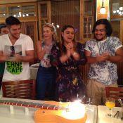 Carolina Dieckmann e Fernanda Souza comemoram aniversário do filho de Preta Gil