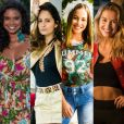Atrizes de 'Malhação', Aline Dias, Amanda de Godoi, Laryssa Ayres e Barbara França dançaram hit 'Deu Onda', do MC G15, em vídeo postado no Instagram nesta terça-feira, 27 de dezembro de 2016