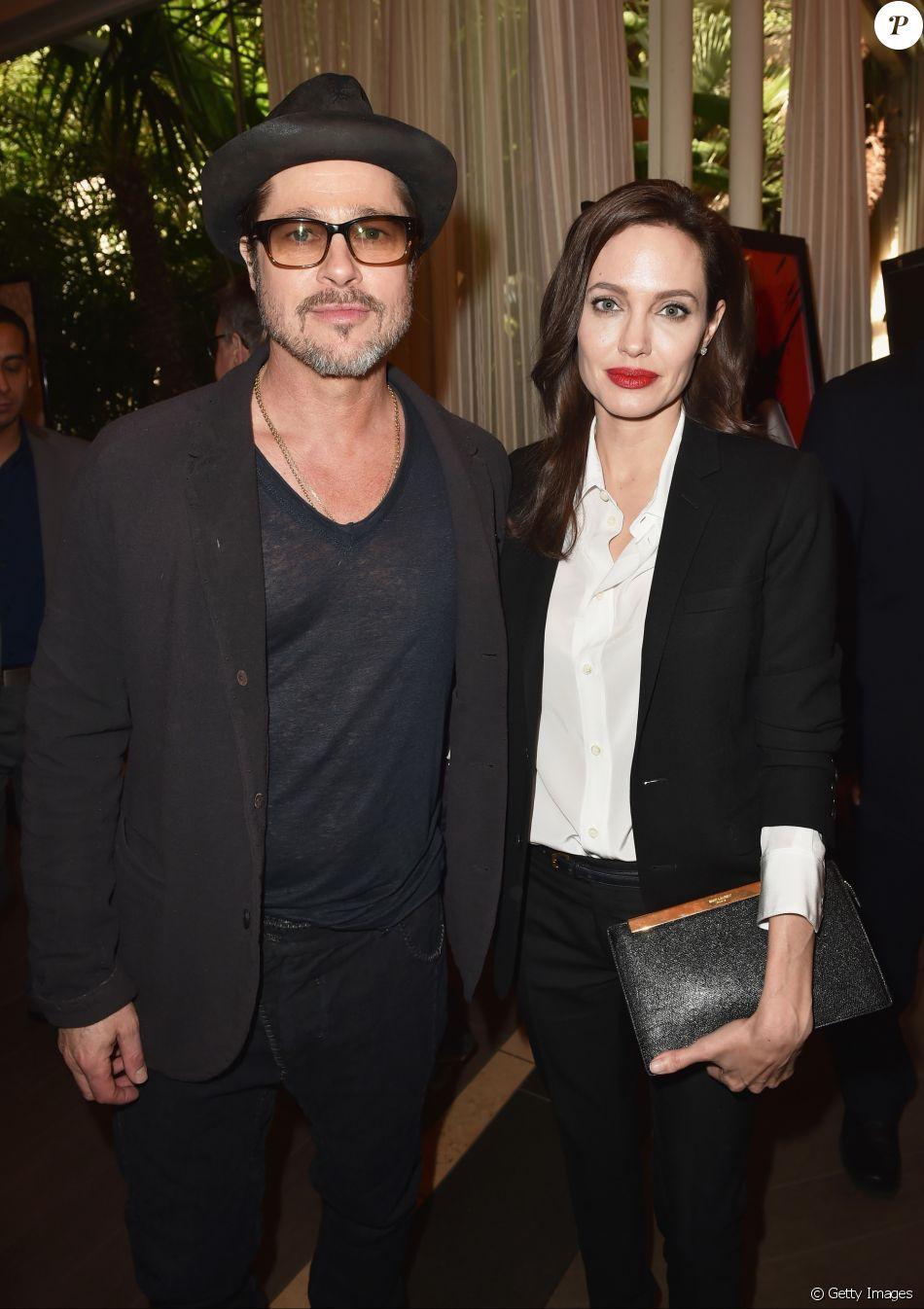 Angelina Jolie não encontra o ex-marido Brad Pitt desde a separação, anunciada no dia 19 de setembro de 2016