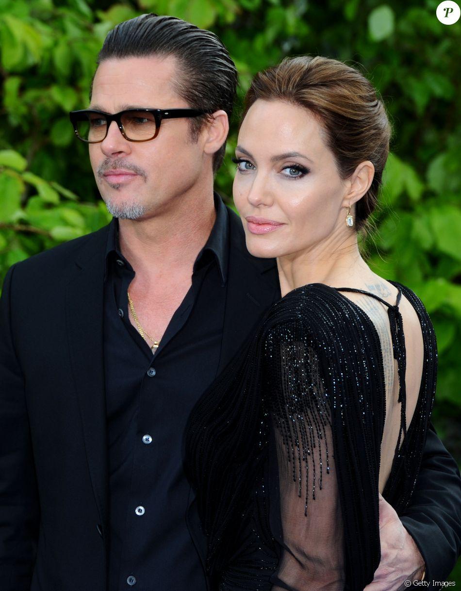Angelina Jolie e Brad Pitt tornaram pública a separação depois de 12 anos juntos