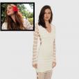 O vestido branco usado por Marina Ruy Barbosa em Noronha no dia 3 de janeiro de 2017 é da Bo.Bô e está à venda no site da marca por R$ 1.998,00. A atriz usou a peça de tricot no último café-da-manhã da viagem