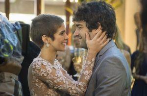 Autores de 'A Lei do Amor' usam cena de Tiago e Letícia para ironizar a novela