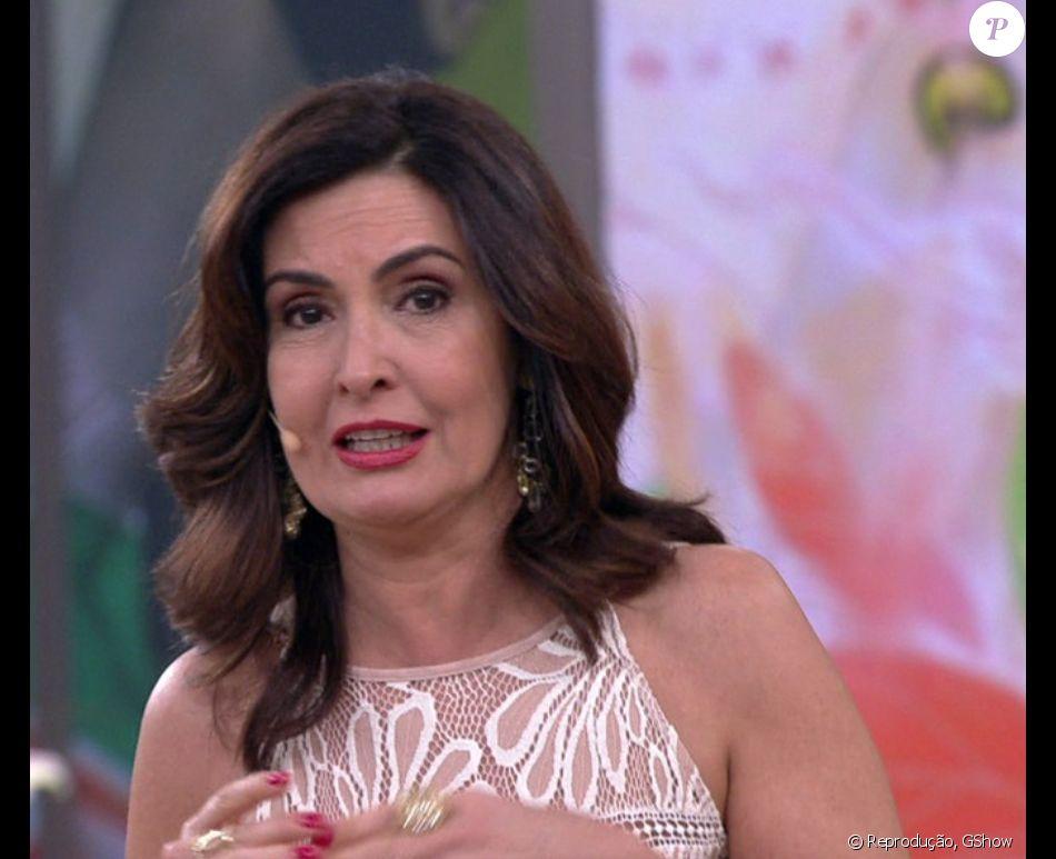 Fátima Bernardes se emocionou nesta sexta-feira, 30 de dezembro de 2016, ao encerrar o 'Encontro'