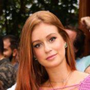 Marina Ruy Barbosa lança moda em Noronha usando vestido ao contrário. Fotos!